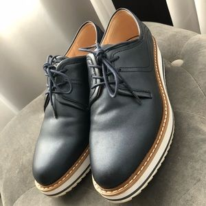 Zara Wedge Shoes SZ 38